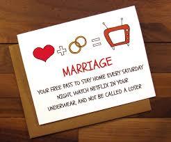 Funny Wedding Wishes Cards Funny Wedding Card Funny Engagement Card Wedding
