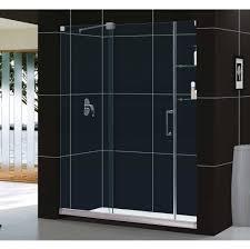 bathroom fully frameless dreamline shower door exclusive
