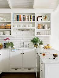 kitchen backsplash storage open kitchen shelves with marble