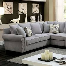 Living Room Without Coffee Table by Skyler Ii Traditional Gray Sectional Without Armless Chair