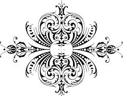 free vintage clip image free calligraphic ornaments clip