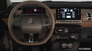 citroen c4 cactus interior youtube