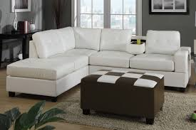 Modern White Bonded Leather Sectional Sofa Inspiration Idea White Leather Sofa With Chaise With Contemporary