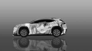 lexus lf nx 4k lexus lf nx side anime aerography car 2014 el tony