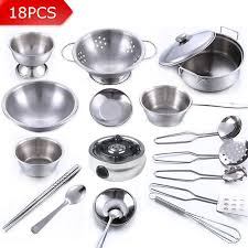 Stainless Steel Kitchen Set by Compare Prices On Miniature Cooking Set Online Shopping Buy Low