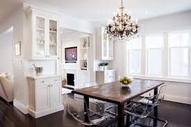 rustic dining room sets dining room transitional with beige