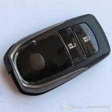 toyota car and remotes car smart key shell for toyota rav4 camry land cruiser prado 2