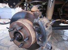 jeep brake pad change