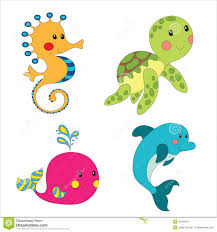 marine life clipart cute pencil and in color marine life clipart