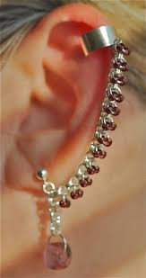 bajoran earring bajoran earring trek crafts cuff