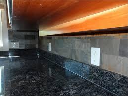 kitchen kitchens with slate colored appliances slate backsplash