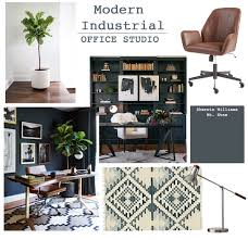 Modern Industrial Desk by Studio Office Design Modern Industrial Tuft U0026 Trim