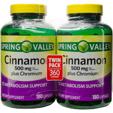Kitchens Plus Team Valley Spring Valley Cinnamon Plus Chromium Dietary Supplement Capsules