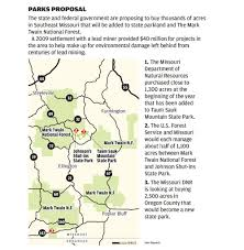Map Of Missouri State Parks by Missouri Planning To Add Thousands Of Acres Of Parkland Business