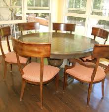 lockhart fine furniture dining table and baker empire chairs ebth