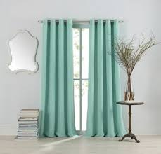 Mint Green Sheer Curtains Buy Blue Sheer Curtain Panels From Bed Bath U0026 Beyond