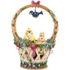 jim shore easter baskets gallery of easter table decorations lovetoknow