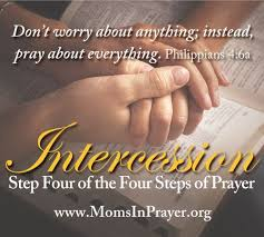 in prayer international the last of the four steps of