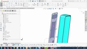 solidworks surface area projection youtube
