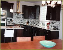 black glass tiles for kitchen backsplashes home design ideas