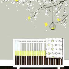Cherry Blossom Tree Wall Decal For Nursery Baby Tree Wall Decals Panda Cherry Blossom Tree Wall