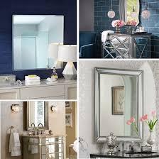 how to decorate bathroom mirror 9 style ideas for bathroom mirrors ideas advice ls plus