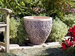 large flower pots cheap planter for trees walmart pot