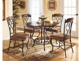 Wrought Iron Kitchen Table Wrought Iron Kitchen Chairs Chic Small Dining Room Design With
