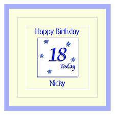 18th birthday cards presents gifts
