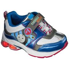 thomas the train light up shoes thomas the tank engine light up sneakers 22 size 7 leilani and