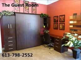 Murphy Bed Guest Room The Guest Room Murphy Beds Ottawa Youtube