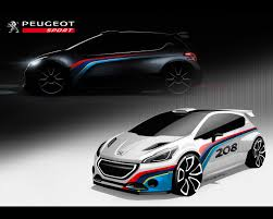 peugeot pars sport 208 type r5 rally car for 2013