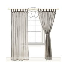 curtains hanging sheer decor unique ways to hang ideas at curtain