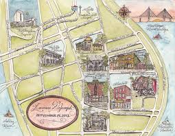 Charleston Sc Map Scribe Design Charleston South Carolina Wedding Map