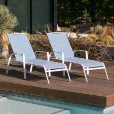 In Pool Chaise Lounge Outdoor Chaise Lounges Hayneedle
