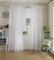 rideaux cuisine porte fenetre voilage rideau en voile paravent motif de pivoine de flocage pour