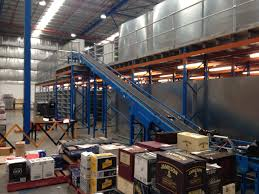 stairs and railings for rack supported mezzanine floor