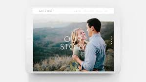 all in one wedding registry zola for wedding websites the official squarespace