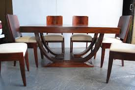Teak Wood Dining Set Dining Room Cozy Back Chairs Plus Fiddle Back Then Art Deco