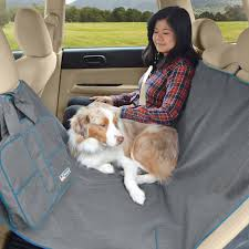 kurgo heather dog hammock seat cover charcoal chewy com