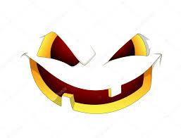 scary halloween pumpkin face u2014 stock vector baavli 10354500