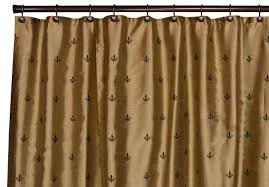luxury stylish faux silk curtains