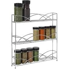 As Seen On Tv Spice Rack Organizer Spectrum Scroll Black Spice Rack Walmart Com