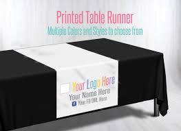 Logo Table Cloth by Lularoe Table Runner Lularoe Pop Up Trade Show Https Www Etsy