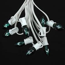 green c7 outdoor light string sets novelty lights inc