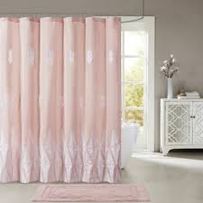 pink shower curtains you u0027ll love