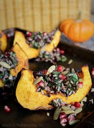 great thanksgiving salads wild rice and acorn squash wedge salad c it nutritionally