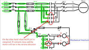 symbols delectable forward motor circuit diagram