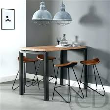 table bar cuisine design table haute de cuisine chaise haute de