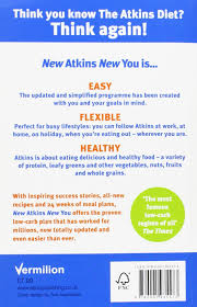 new atkins for a new you the ultimate diet for shedding weight
